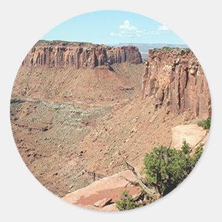 Canyonlands National Park, Utah, USA 7 Classic Round Sticker