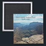 "Canyonlands National Park Utah USA travel Magnet<br><div class=""desc"">Canyonlands National Park Utah USA travel refrigerator Magnet,  Travel souvenir..</div>"