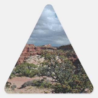 Canyonlands Triangle Sticker