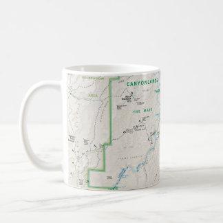 Canyonlands (Utah) map mug