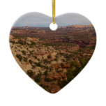 Canyonlands View from Neck Springs Trail Ceramic Ornament