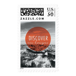 Canyons | Discover New Horizons Quote Postage