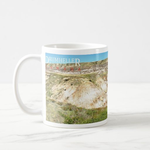 Canyons Drumheller Alberta Canada Mug