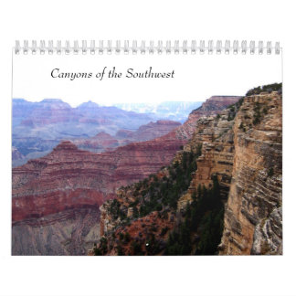Canyons of the Southwest ~ Any Year Calendar