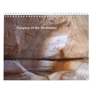 Canyons of the Southwest Calendar