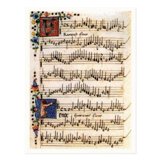 Canzoniere para tres y cuatro voces postal