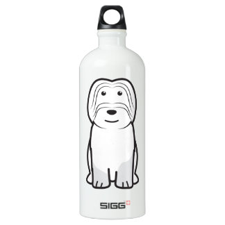 Cão da Serra de Aires Dog Cartoon Aluminum Water Bottle
