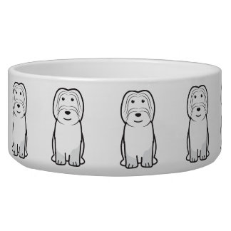 Cão da Serra de Aires Dog Cartoon Bowl