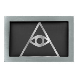 Cao dai Eye of Providence- Religious icon Belt Buckle