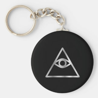 Cao dai Eye of Providence- Religious icon Keychain