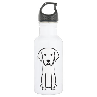 Cão de Castro Laboreiro Dog Cartoon Water Bottle