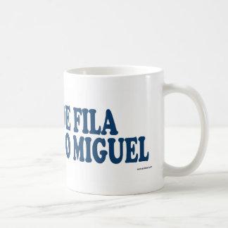 Cao De Fila De Sao Miguel Blue Coffee Mug