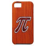 Caoba rica pi iPhone 5 Case-Mate carcasa