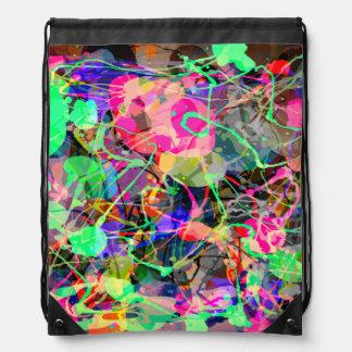 Caos creativo colorido mochilas