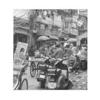 Caos de B&W en Delhi Libreta Para Notas