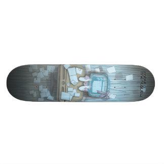 Caos del niño tabla de skate