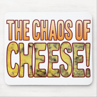 Caos del queso verde tapete de ratón