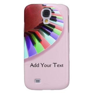 Caos del teclado brillante en rosa