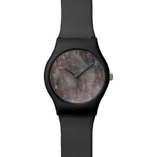 Caos en espacio exterior relojes de pulsera