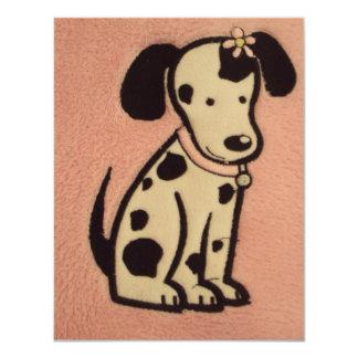 cãozinho white the white dots card
