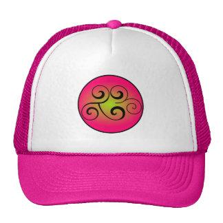 cap 2ૐ pink/magenta trucker hat