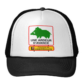 Cap - a HEAT IN ADVANCE - prov. Luxembourg Trucker Hat