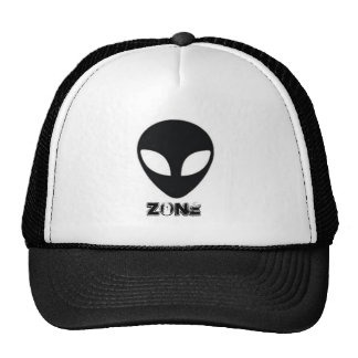 cap alien zone trucker hat