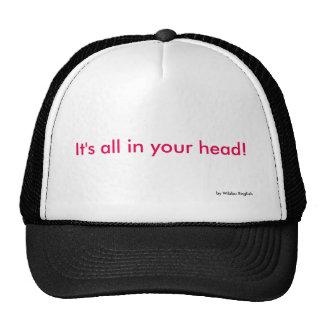 Cap - All in your Head Trucker Hat