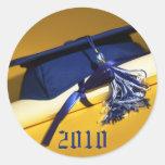 Cap and Tassel Custom Graduation Invitation Seal_2 Sticker