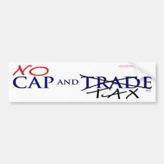 Cap and Trade Bumpersticker Bumper Sticker