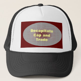 Cap and Trade hat