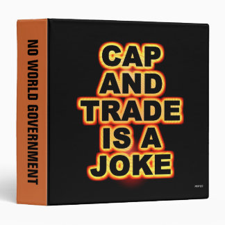 Cap And Trade Is A Joke Binder