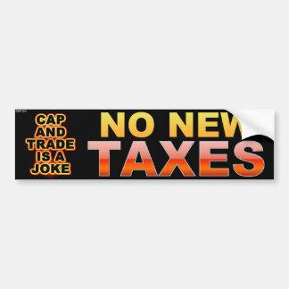 Cap And Trade Is A Joke Bumper Sticker