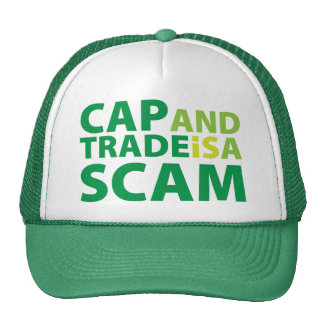 Cap and Trade is a Scam Mesh Hat