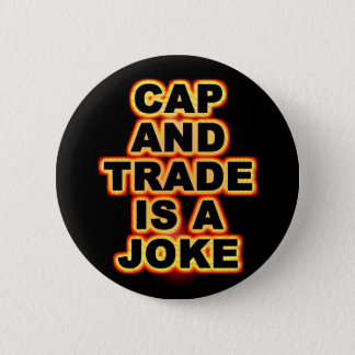 Cap And Trade Pinback Button
