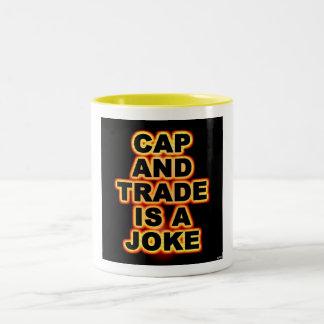 Cap And Trade Two-Tone Coffee Mug