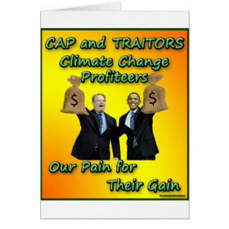 Cap and Traitors Greeting Card