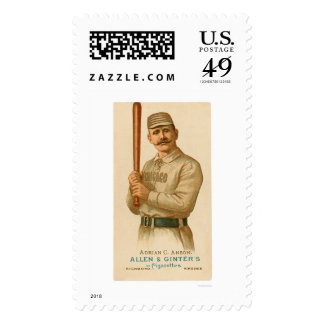 Cap Anson Baseball Card 1887 Stamps