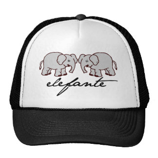 Cap Band Elephant Trucker Hat