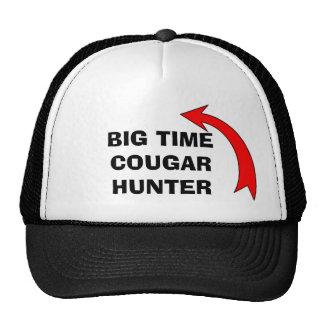 CAP - BIG TIME COUGAR HUNTER - II TRUCKER HAT