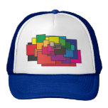 Cap BIgSquare Colored Trucker Hat