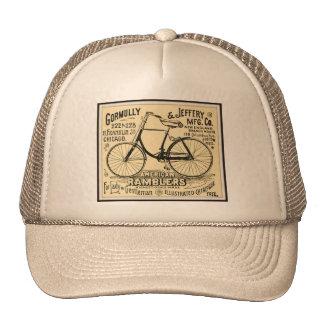 CAP Bike Backward Trucker Hat