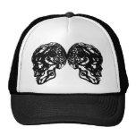 CAP BLACK SKULL 2 HATS