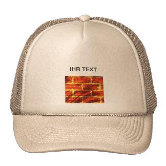 "Cap ""brick "" trucker hat"
