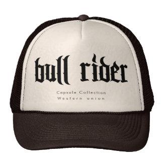 Cap Bull Rider Trucker Hat