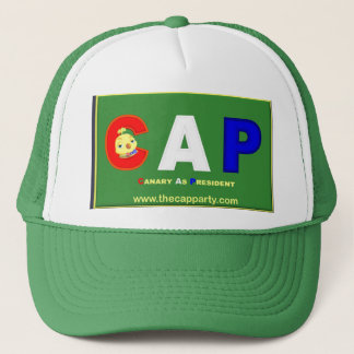 CAP (Canary As President) Party Cap