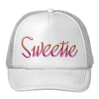 Cap Cap garrison cap motive Sweetie Mesh Hats