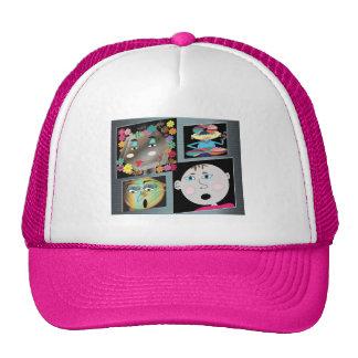 cap    cartoons mesh hat