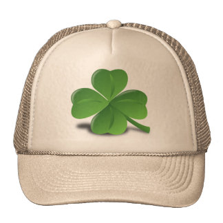 cap clover with 4 sheets, amulet trucker hat