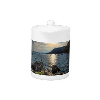 Cap d'ail, France Teapot